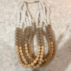 Francescas beaded statement necklace